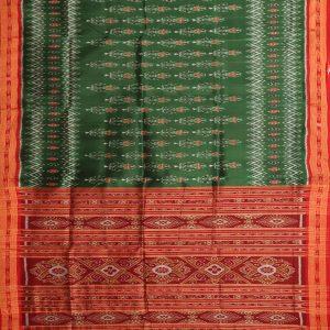 Celadon Green khandua silk saree