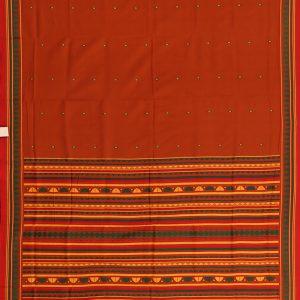Flame dongria cotton saree
