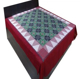 Multicolor Double Bed Cover