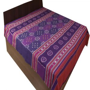 Cyber Grape Double Bed Cover