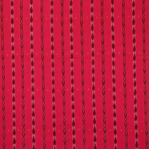 Bright Pink nuapatna traditional ikat Material