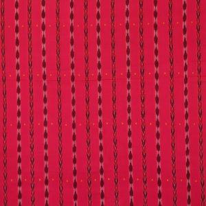 Bright Pink nuapatna traditional ikat Material
