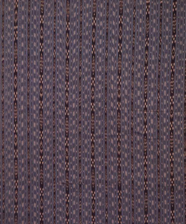 Bright Navy Blue nuapatna traditional ikat Material