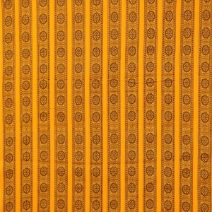 Yellow bomkai traditional ikat Material
