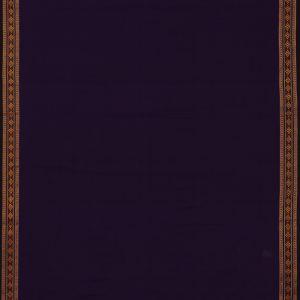 Blue-Magenta Violet blouse Material